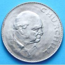 Великобритания 1 крона 1965 год. Черчилль.
