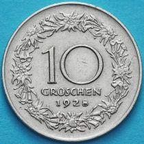 Австрия 10 грошей 1928 год. Маргарита Маульташ.