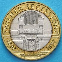 Австрия 50 шиллингов 1997 год. Венский сецессион.