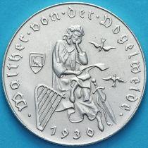 Австрия 2 шиллинга 1930 год. Вальтер фон дер Фогельвейде. Серебро.