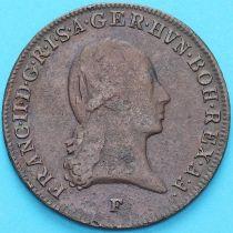 Австрия 3 крейцера 1800 год. F