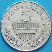 Австрия 5 шиллингов 1969 год.