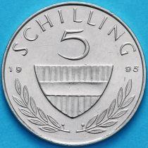 Австрия 5 шиллингов 1995 год.