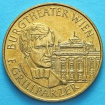 Австрия 20 шиллингов 1993 год. Франц Грильпарцер.