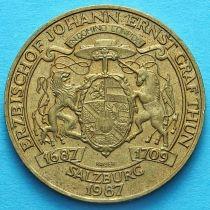 Австрия 20 шиллингов 1987 год.