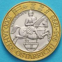 Австрия 50 шиллингов 1996 год. 1000 лет Австрийскому государству.