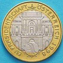 Австрия 50 шиллингов 1998 год. Председательство Австрии в ЕС