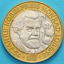 Австрия 50 шиллингов 1998 год. Конрад Лоренц.