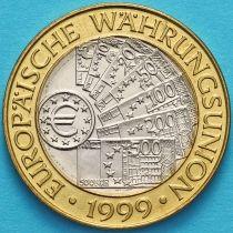 Австрия 50 шиллингов 1999 год. Европейский валютный союз.