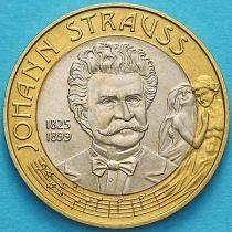 Австрия 50 шиллингов 1999 год. Иоганн Штраус.