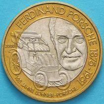 Австрия 50 шиллингов 2000 год. Фердинанд Порше.
