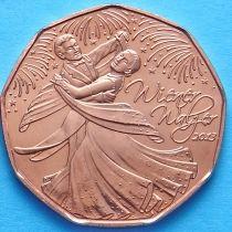 Австрия 5 евро 2013 год. Венский Вальс.