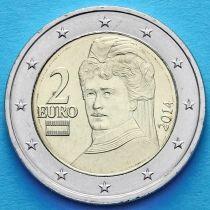 Австрия 2 евро 2014 год.