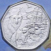 Австрия 5 евро 2014 год. Серебро. Арктика