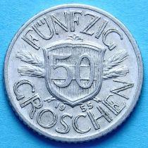 Австрия 50 грошей 1945-1955 год.