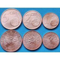 Австрия набор 3 монеты 2014-2015 год.