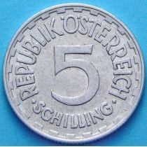Австрия 5 шиллингов 1952 год.