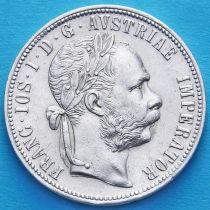 Австрия 1 флорин 1886 год. Серебро