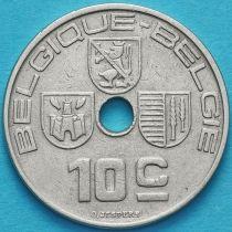 Бельгия 10 сантим 1938 год. 'BELGIQUE-BELGIE'.
