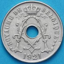 Бельгия 25 сантим 1921 год. Французский вариант
