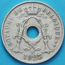 Бельгия 25 сантим 1923 год. Французский вариант