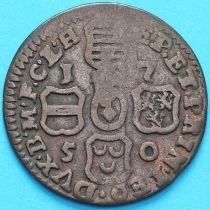 Бельгия, Льеж 1 лиард 1750 год.