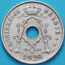 Бельгия 25 сантим 1926 год. Фламандский вариант.
