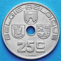 Бельгия 25 сантим 1938 год. BELGIE - BELGIQUE
