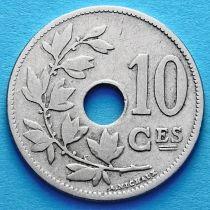 Бельгия 10 сантим 1902-1903 год. Французский вариант