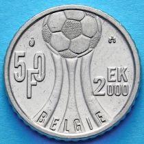 Бельгия 50 франков 2000 год. Чемпионат Европы по футболу. Фламандский вариант.