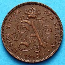Бельгия 2 сантима 1919 год. Фламандский вариант