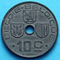 Лот 10 монет Бельгии 10 сантим 1941-1946 год. BELGIE - BELGIQUE.