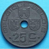Лот 10 монет Бельгии 25 сантим 1942-1946 год. BELGIQUE - BELGIE.