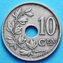 Бельгия 10 сантим 1920-1929 год. Фламандский вариант.