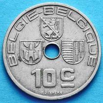 Бельгия 10 сантим 1939 год. 'BELGIE - BELGIQUE'.