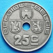 Бельгия 25 сантим 1938-1939 год. BELGIQUE - BELGIE