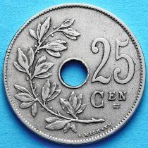 Бельгия 25 сантим 1928 год. Фламандский вариант.