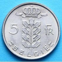 Бельгия 5 франков 1948-1978 год. BELGIE.
