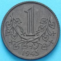 Чехия, Богемия и Моравия 1 крона 1943 год. UNC