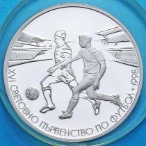 Болгария 500 левов 1996 год. ЧМ по футболу. Серебро.