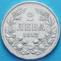 Болгария 2 лева 1912 год. Серебро.