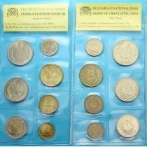 Болгария набор 7 монет 1962 год.
