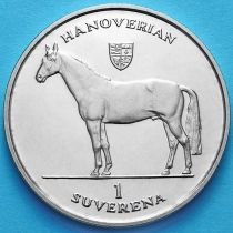 Босния и Герцеговина 1 суверен 1996 год. Ганноверская лошадь.