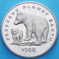 Босния и Герцеговина 500 динаров 1994 год. Медведь