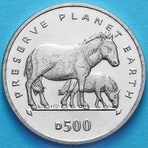 Босния и Герцеговина 500 динар 1995 год. Лошадь Пржевальского.