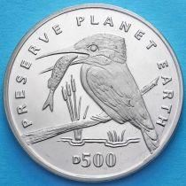 Босния и Герцеговина 500 динар 1994 год. Зимородок