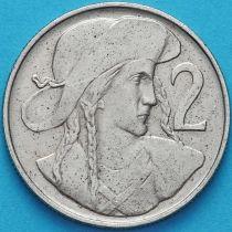 Чехословакия 2 кроны 1947 год.