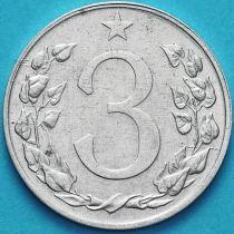 Чехословакия 3 геллера 1953 год.