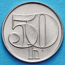 Чехословакия 50 геллеров 1991-1992 год.