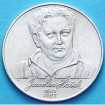 Чехословакия 100 крон 1983 год. Ярослав Гашек. Серебро